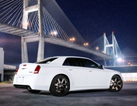 Chrysler300SRT8side