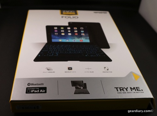 Gear Diary ZAGG Folio Keyboard Case iPad Air 50