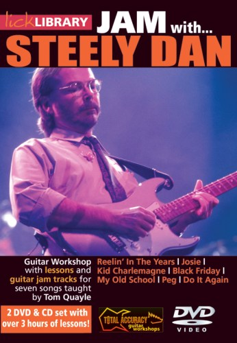 'Jam With Steely Dan' Instructional DVD Set From LickLibrary