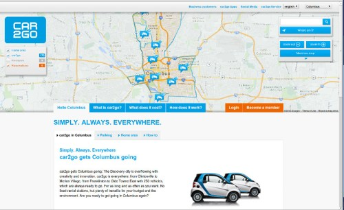 The Handy car2go Service Comes to Columbus  The Handy car2go Service Comes to Columbus
