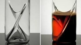 Dual Beer Glass Makes Black & Tans Foolproof