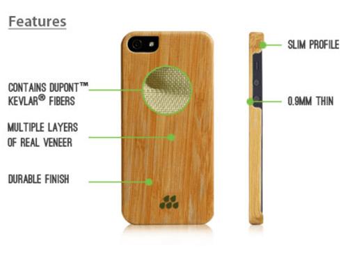 IPhone 5 5s | Wood S | Evutec