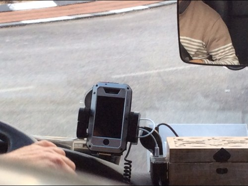 The iPhone 5 Case Was a LunaTik; Fortunately, Our Israeli Bus Driver Wasn't