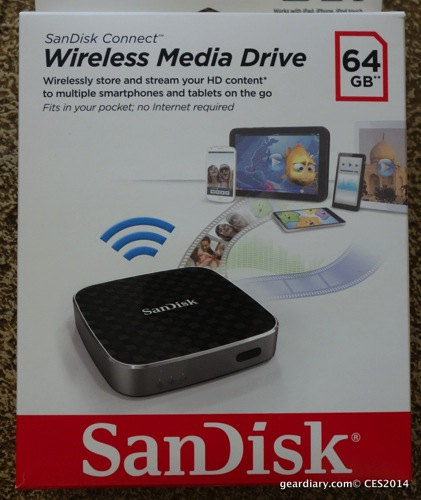 End Your Storage Space Blues with the SanDisk Connect Wireless Media Drive