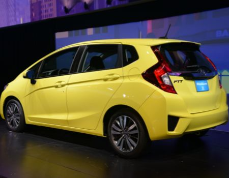 GearDiary Honda Debuts All-New 2015 Fit at NAIAS