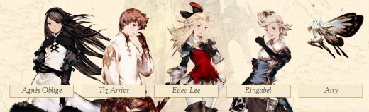 Bravely Default Review on Nintendo 3DS  Bravely Default Review on Nintendo 3DS
