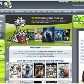 Goozex Homepage As It Was