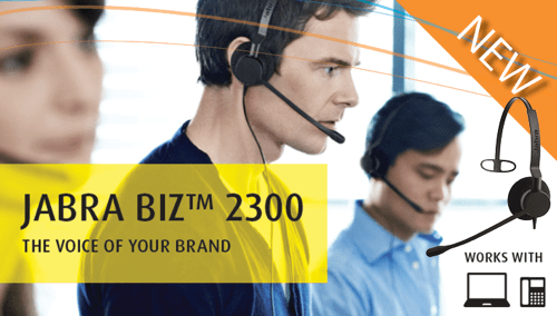 The Jabra BIZ 2300 Is the Call Center Headset Evolved