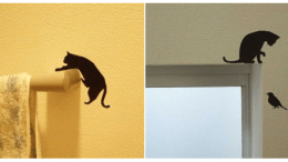 You'll Never Clean the Litter Box with These Feline Stickers