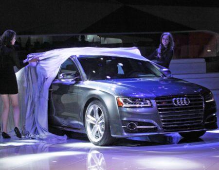 Audi models unveil next S8