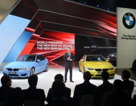BMW premiered new M3 and M4 models