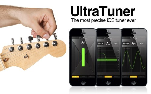 GearDiary IK Multimedia UltraTuner Review - It's the Best iOS Tuner Available