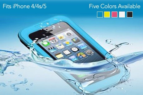 Lotus Waterproof Case for iPhone 4S/5/5S for only $12!