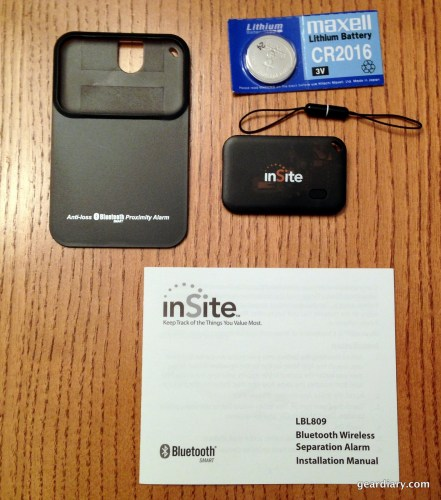 Audiovox inSite Separation Alarm Review - Perfect for the Forgetful  Audiovox inSite Separation Alarm Review - Perfect for the Forgetful