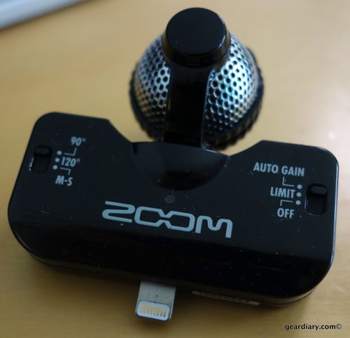 Want Better Audio from Your iOS Device? Get the Zoom iQ5 and Get Recording
