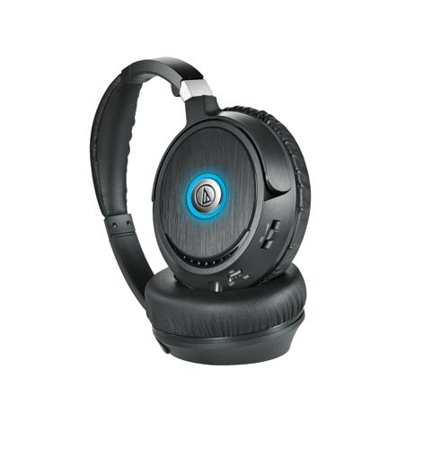 ATH ANC70 QuietPoint® Active Noise cancelling Headphones || Audio Technica US