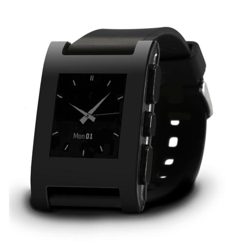 Pebble Watch - Color Series Matte Black 4