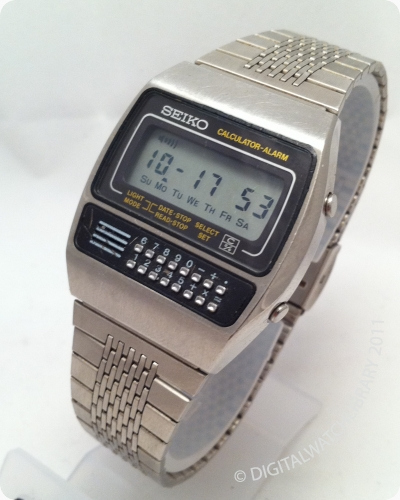 Seiko Calculator Watch