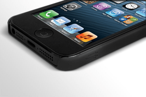 The Slim case  Onyx Black for Apple iPhone 5 5S by BodyGuardz