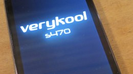 Dual SIM VeryKool s470 Black Pearl Android Phone - Great for Travel