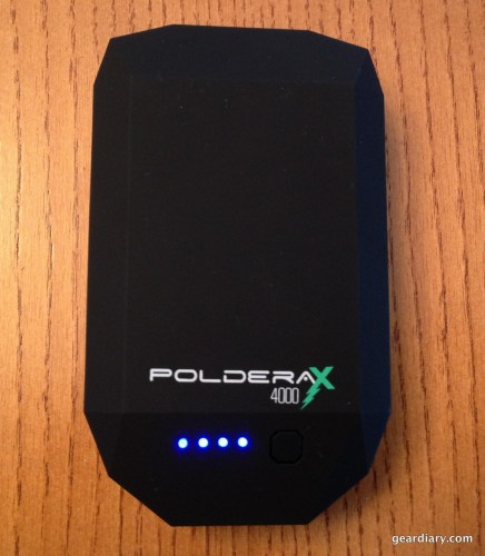Poldera X4000 Portable Power Bank & Wall Charger is a Powerful Accessory  Poldera X4000 Portable Power Bank & Wall Charger is a Powerful Accessory