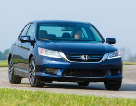 2014 Honda Accord Hybrid/Images courtesy Honda