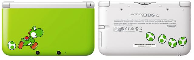 GearDiary Yoshi Edition Nintendo 3DS XL System/Yoshi's New Island Releases