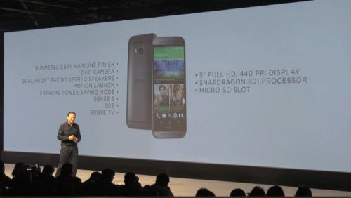 HTC One (M8) Unveiled - Available Now
