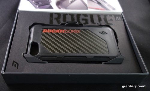 Element Case Rogue Ducati iPhone 5S Case Looks Sharp, Protects Well  Element Case Rogue Ducati iPhone 5S Case Looks Sharp, Protects Well