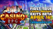 CasinoRPG Worlds First Casino MMORPG Launched Today
