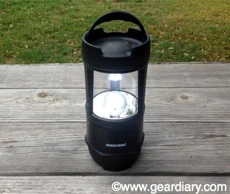 Rayovac Virtually Indestructible LED 3D Lantern Review