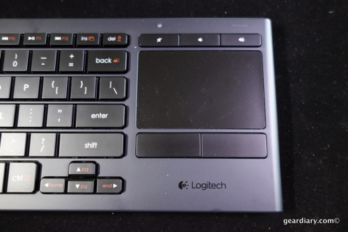 Logitech K830 Illuminated Living Room Keyboard Review