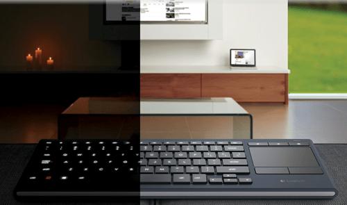 GearDiary Logitech K830 Illuminated Living-Room Keyboard Review