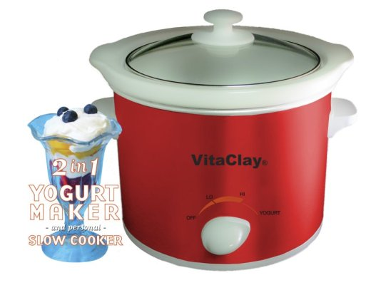 VitaClay StoneWare Yogurt Maker Adds Culture to Your Kitchen