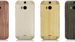 GearDiary Toast Cover Adds Natural Flair to the HTC One M8