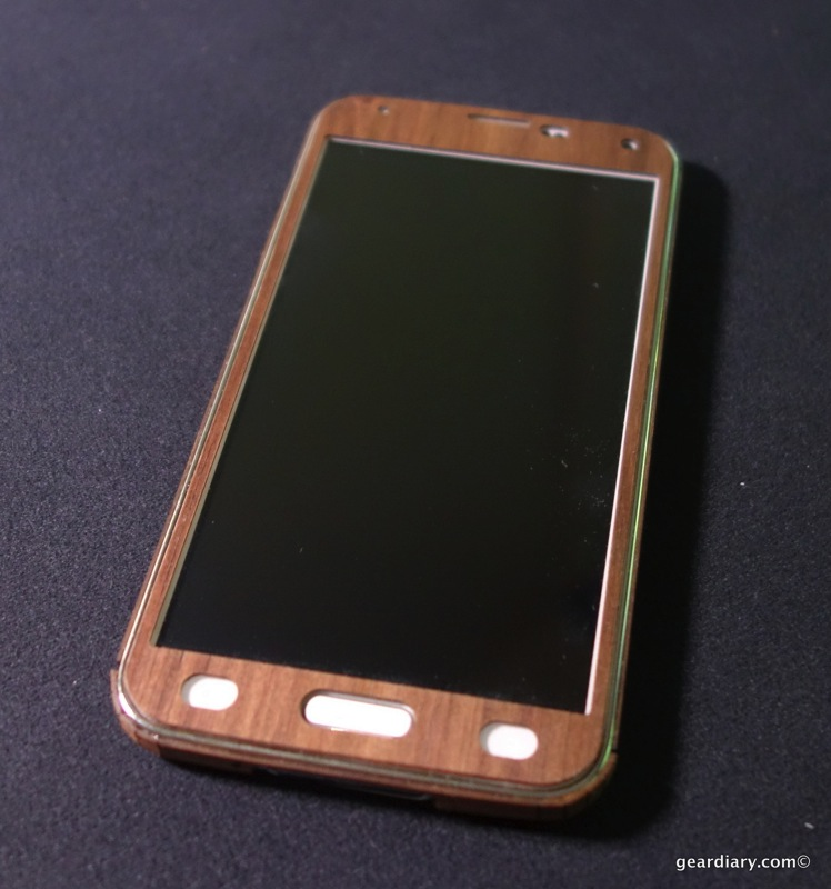 Toast Wood Covers for Samsung Galaxy S5 - Wooden Elegance