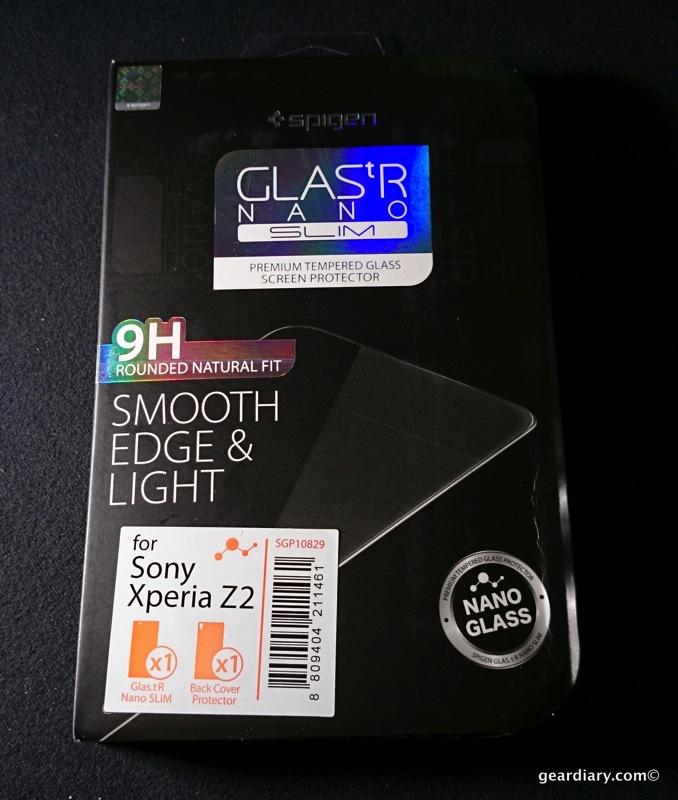 Spigen GLAStR NANO SLIM Screen Protector for Sony Xperia Z2