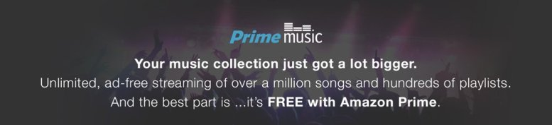 Amazon Launches Prime Music Streaming Service!