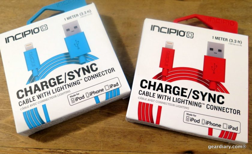 Gear Diary Incipio Charge Sync Cable with Lightning Connector