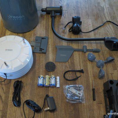 Gear Diary Oregon Scientific Ultra Precision Professional Weather Station WMR300-006