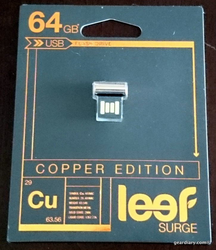 Leef Copper Edition Surge 64GB USB Flash Drive Review