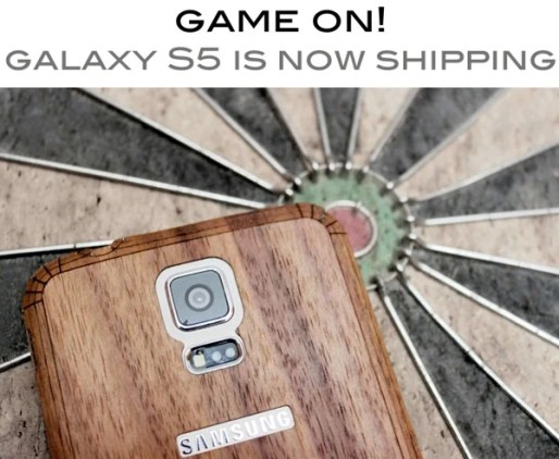 Toast Wood Covers for Samsung Galaxy S5 - Wooden Elegance  Toast Wood Covers for Samsung Galaxy S5 - Wooden Elegance