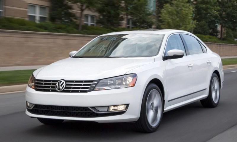 2014 Volkswagen Passat TDI/Images courtesy Volkswagen