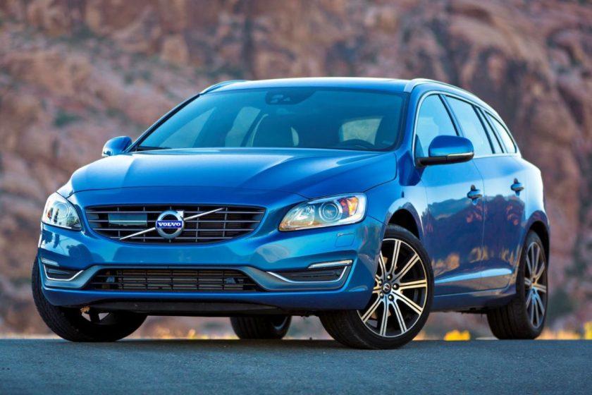 2015 Volvo V60 T5 Drive-E/Images courtesy Volvo