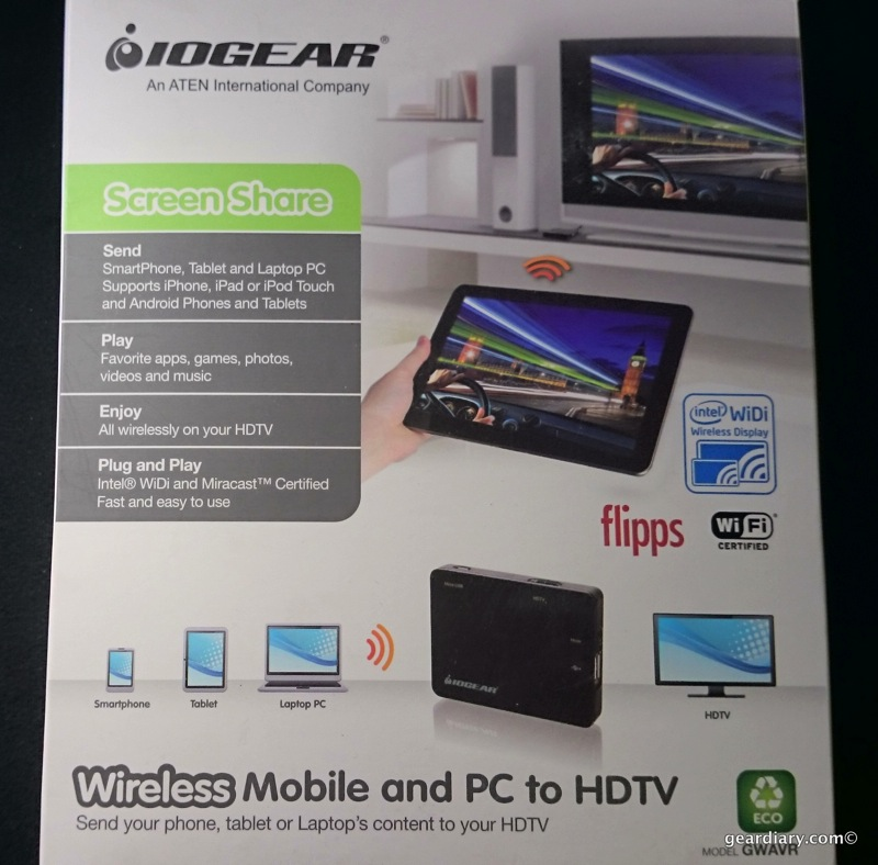IOGEAR Wireless Mobile and PC to HDTV With WiDi and Miracast