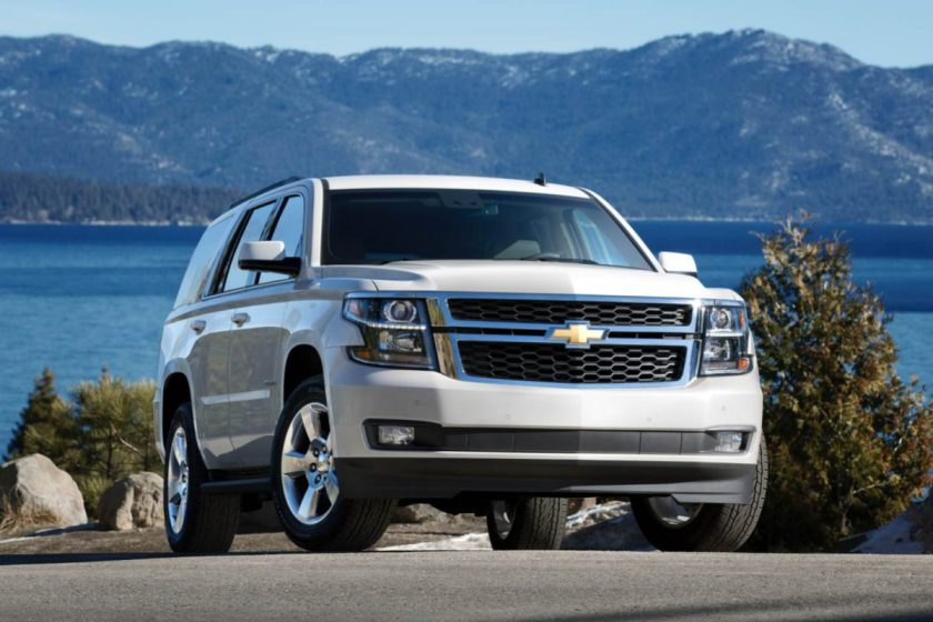 2015 Chevrolet Tahoe/Images courtesy Chevrolet
