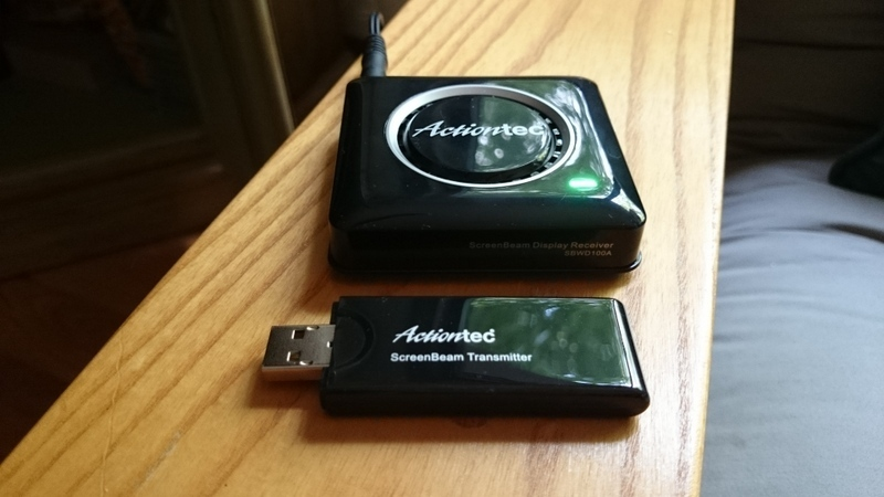 Actiontec ScreenBeam Pro Wireless Display Receiver and USB Transmitter