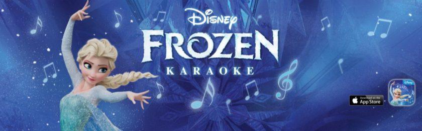 Disney Karaoke: Frozen App Review for iPad