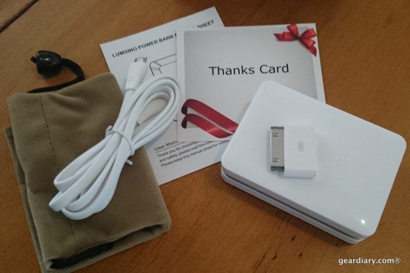 Gear Diary Lumsing Mini Portable Power Bank 5200mAh .18