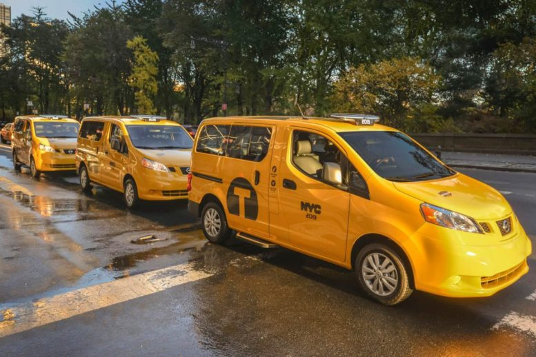 2014 Nissan NV200 Taxi of Tomorrow Is Here Today